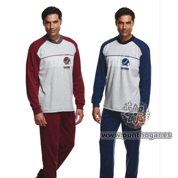 Pijama hombre invierno 7481 marca Asman