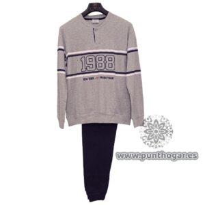 Pijama hombre largo LIONEL de B&H