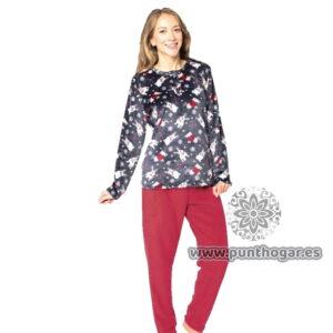 Pijama coralina mujer PALMIRA Ref. 41770 BH Textil