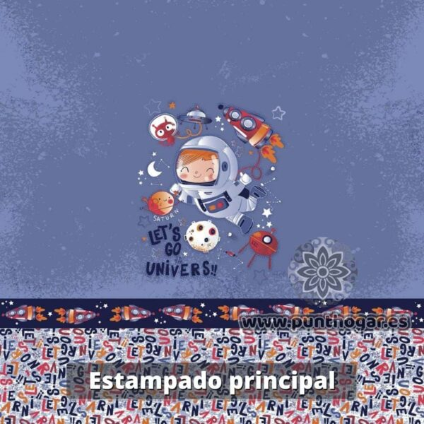 Funda nórdica infantil ROCKY de JVR