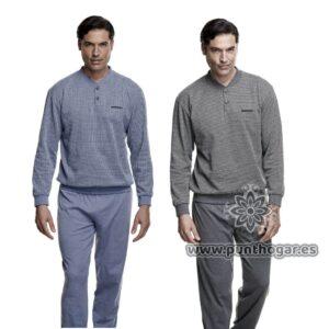 Pijama hombre invierno 7473 marca Asman
