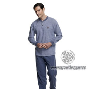 Pijama hombre invierno 7476 marca Asman