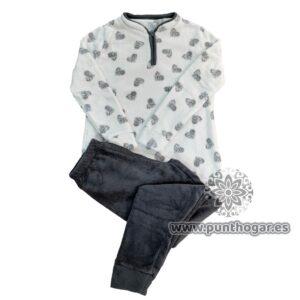 Pijama coralina mujer VERONICA Ref. 41777 BH Textil