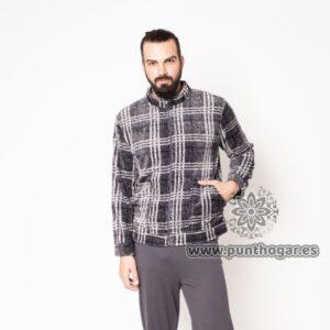 Bata corta hombre con cremallera MARCOS de B&H Textil