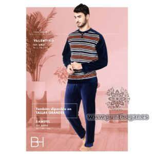 Pijama coralina hombre VALENTINO Ref 41827