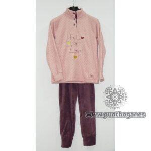 Pijama coralina mujer ALBA Ref. 41781 BH Textil