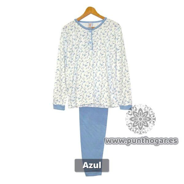 Pijama de mujer clásico FLOR 3531 de invierno