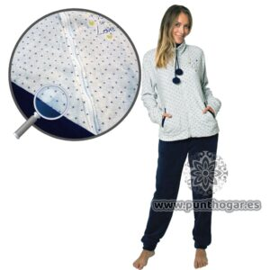 Pijama coralina mujer KAI Ref. 41786 BH Textil