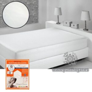 Protector de colchón fino NARANJA 100% algodón